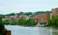 Morgantown: small town, college town, downtown Morgantown